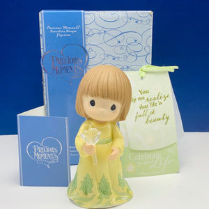 Precious Moments figurine NIB Realize life Beauty